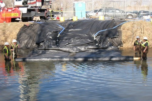 Temporary Cofferdam RIver Crossing 6