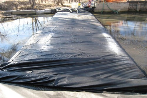 Temporary Cofferdam RIver Crossing 8